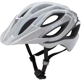 KED Paganini Visor Helmet silver matt